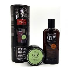 American Crew Pachet Hair & Body Daily Moisturizing Sampon 250ml + Styling Forming Crema 85g