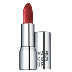 Make up Factory Shimmer Lip Stick Classic Carmine 42