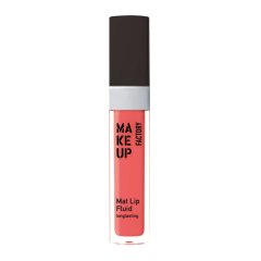 Make up Factory Mat Lip Fluid Longlasting Pink Scarlet 34