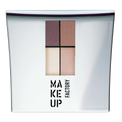 Make up Factory Quattro Eye Shadow Misty Rose 10