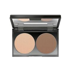 Make up Factory Duo Contouring Powder Light Coffee 07