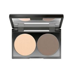 Make up Factory Duo Contouring Powder Raw Umber 15