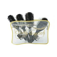 Olivia Garden Ceramic Ion Thermal Brush Negru si husa
