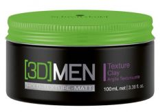 Schwarzkopf Professional 3D Men Texture Clay Ceara 100ml