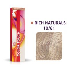 Wella Color Touch 10/81 60ml