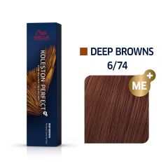 Wella Koleston Perfect Me + Deep Browns 6/74 60ml