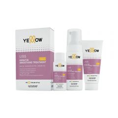 Yellow Liss Smoothing Kit treatment
